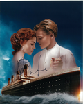 Kate Winslet,  Titanic,   genuine signed autograph 10460